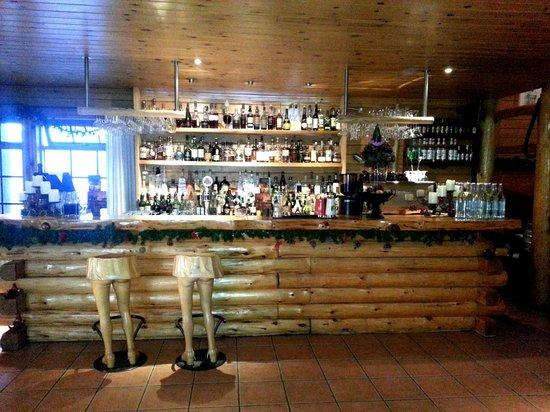 Hotel Ranga: Funky bar by dining room