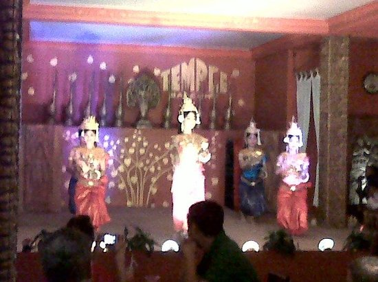 Temple Club: The dance (sorry bad picture quality)