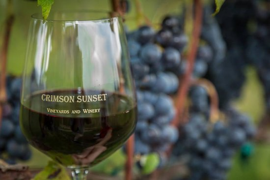 Crimson Sunset Vineyards, Winery, Orchards and Cidery