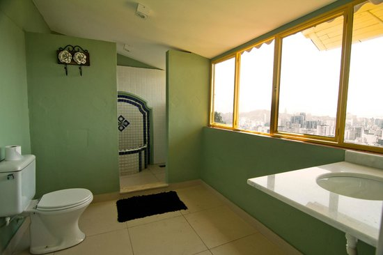 Terra Brasilis Hostel: Master Suite Bathroom
