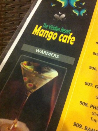 The Viridian Resort: Mango cafè