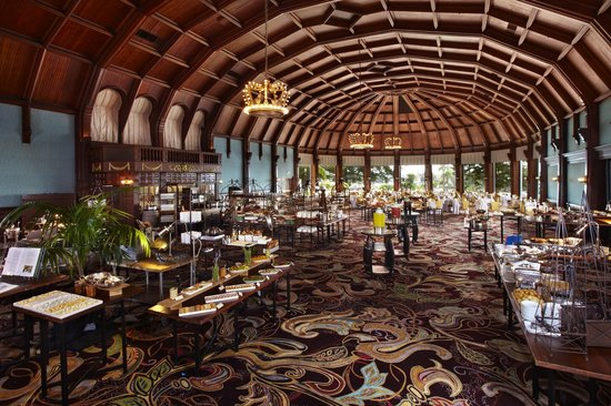 Hotel del Coronado's famous Sunday Brunch in the historic Crown Room