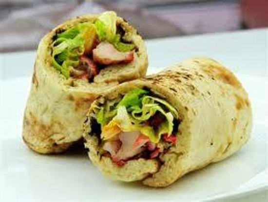 Curry Express : Tandoori Chicken Wrap