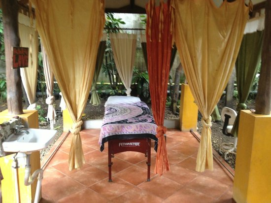 Casa Zen Guest House & Yoga Center : Massage Area