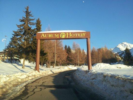 Grand Hotel Duchi d'Aosta: entrata