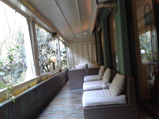 Hotel Delle Nazioni : terraza