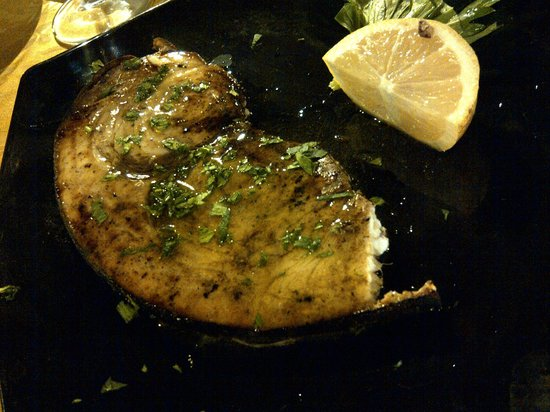 Al Rustico 2: Swordfish stake, must be a frozen one - 剑鱼,冰冻的不新鲜
