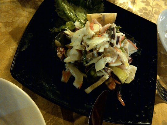 Al Rustico 2: the starter, the only one is OK 冷盘儿,唯一凑活的一道菜