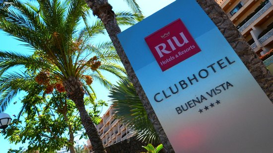 ClubHotel Riu Buena Vista : Entrance