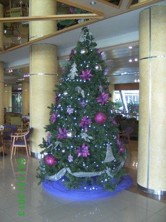 Fanabe Costa Sur Hotel: Weihnachtsbaum