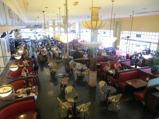 Jerry's Famous Deli : view from upstairs