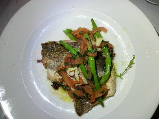 The Brasserie: Seabass