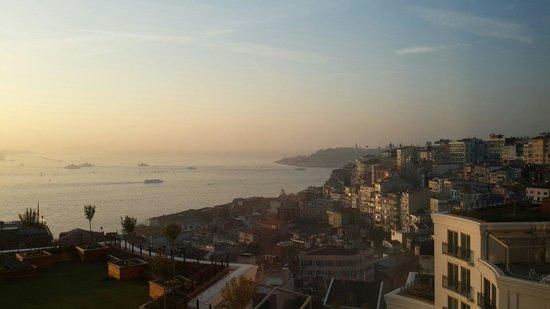 CVK Park Bosphorus Hotel Istanbul : Из некоторых номеров открывается красивый вид на Босфор