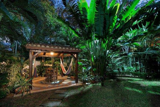 Villa Andalucia Bed and Breakfast : Rancho in Casita Seville garden.