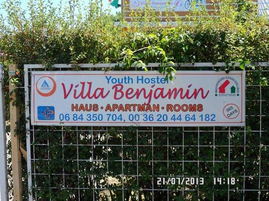 Youth Hostel Villa Benjamin: hostel