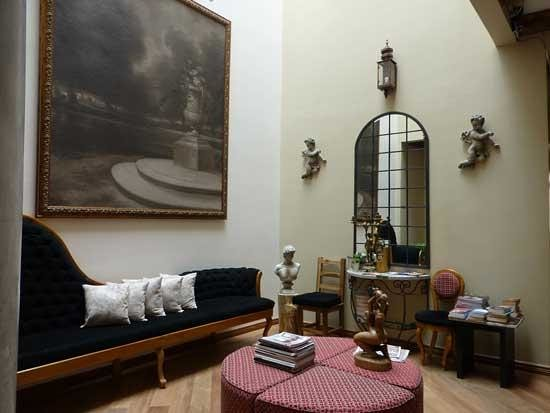 Casa Joaquin Boutique Hotel: Sitting room