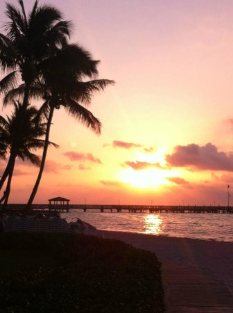 The Reach Key West, A Waldorf Astoria Resort: sunrise