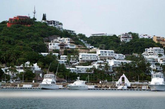 Dolphin Cove Inn: Panoramica de hotel