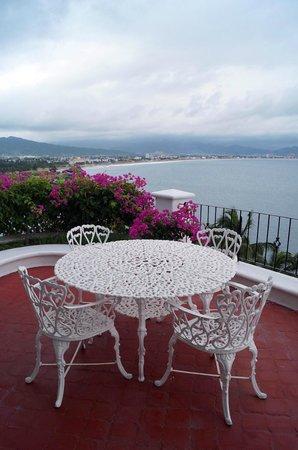 Dolphin Cove Inn: Vistas de balcón