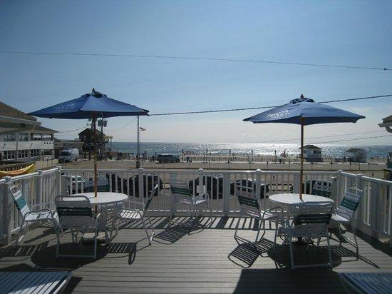 Seaside Best Rentals: The sun deck...ahhhhh!!!