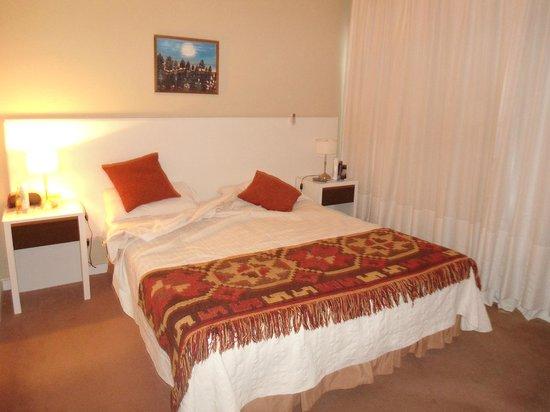 Yreta Apart : Dormitorio amplio cama y colchon muy comodos