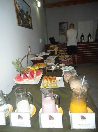 Yreta Apart : Desayuno2