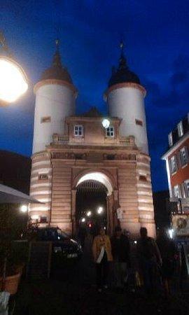 Hotel Holländer Hof: Blick vom Hotel