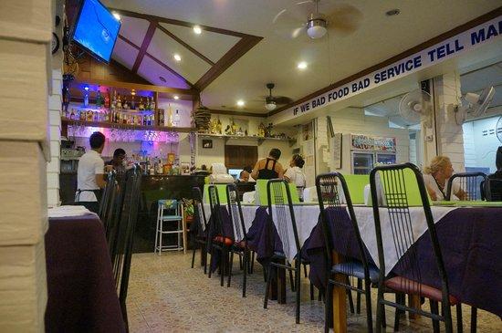Ging Restaurant: Вид внутри