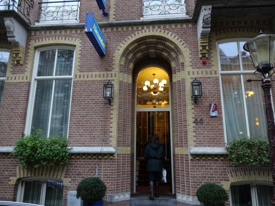 Hotel Alexander : vista da fachada