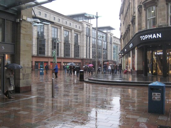 Sauchiehall and Buchanan Streets