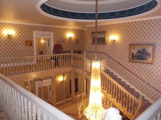 The Chester Grosvenor: staircase