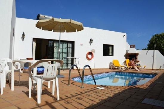 Villas Salinas de Matagorda : Pool area