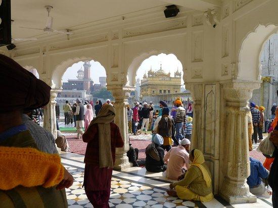 Templo Dorado: Amritsar Goldener Tempel 2