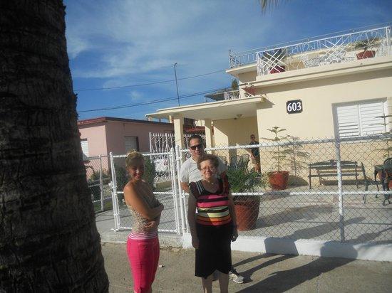 Hostal Nautico: Con Yoena e Javier