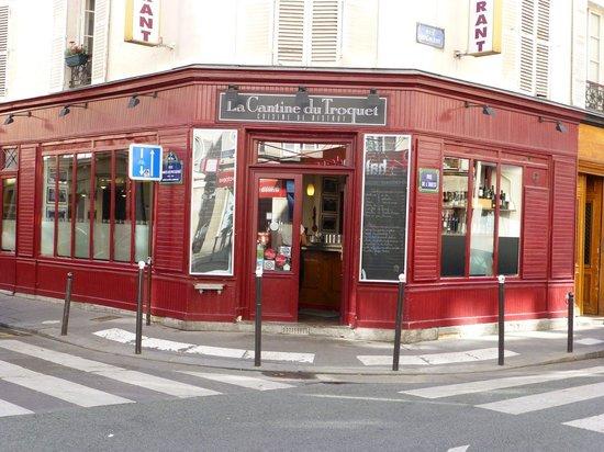 La Cantine Du Troquet : corner at 101 rue de L'Ouest