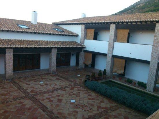Hotel Balneario de Zújar- La Alcanacia: Patio interior