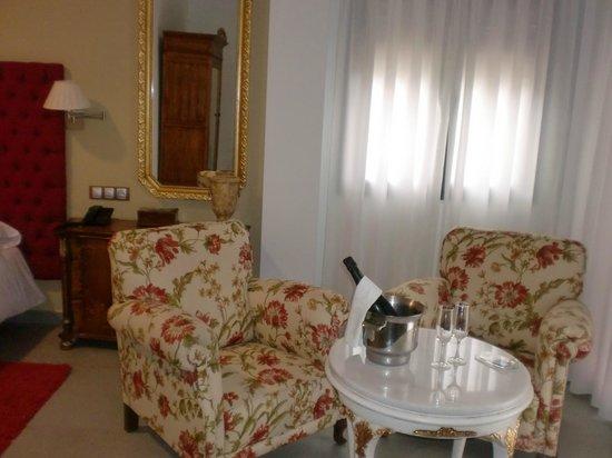 Hotel Balneario de Zújar- La Alcanacia: Suite junior