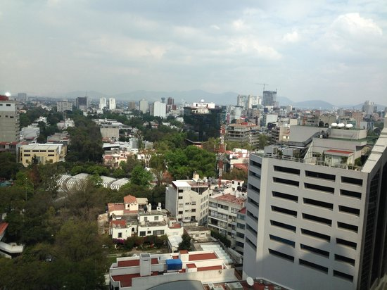 JW Marriott Hotel Mexico City: our room view