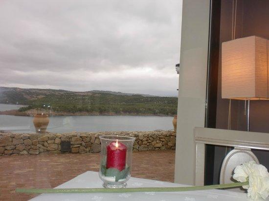 Hotel Balneario de Zújar- La Alcanacia: Vistas desde el restaurante