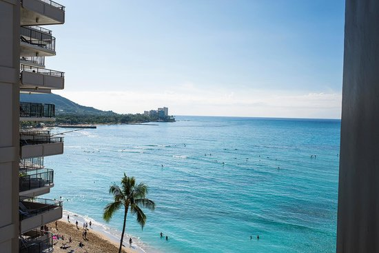 Outrigger Waikiki Beach Resort: View from room
