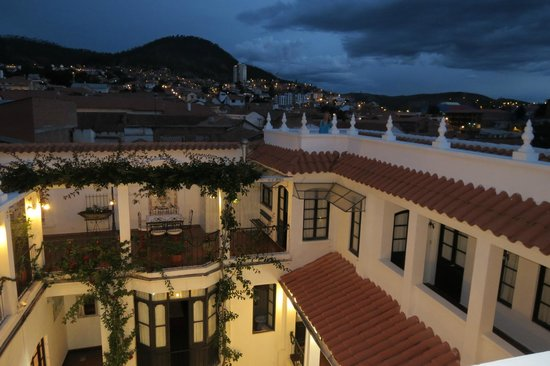 El Hotel de Su Merced: View from the roof