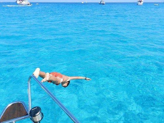 Camping U Paradisu: il mare di Saleccia