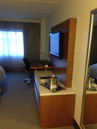 Hilton Albany : TV/Desk