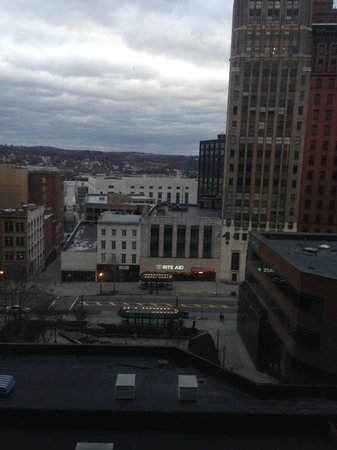 Hilton Albany : View from room