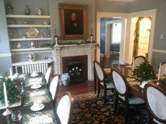 Carolina Bed & Breakfast: the breakfast area
