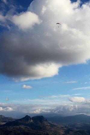 FlySpain Paragliding Centre: Fantastic thermalling