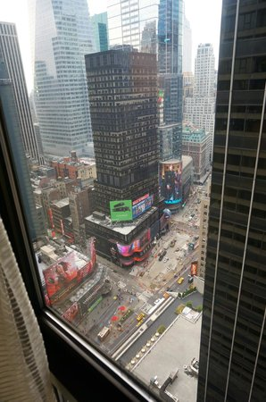 New York Marriott Marquis: View from the 40th floor suite