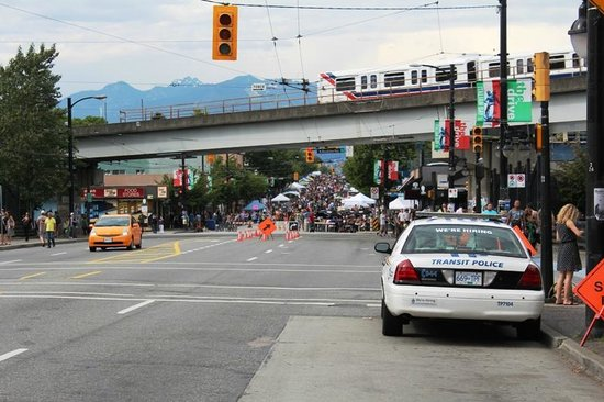 2013 Car free day on Commercial Drive