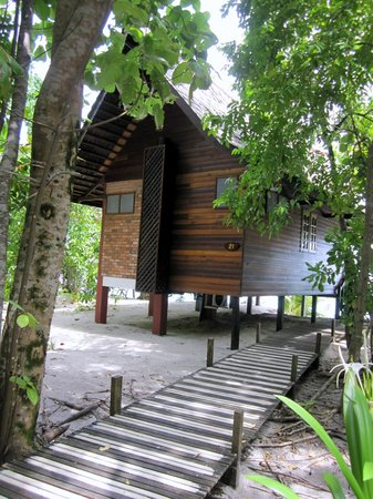 Lankayan Island Dive Resort : Chalet/Room