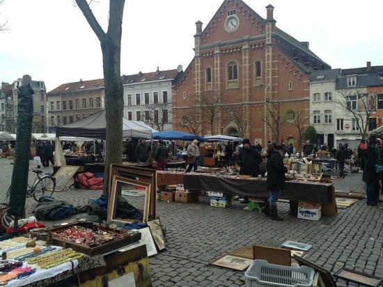 Place du Jeu de Balle : Γενικό πλάνο